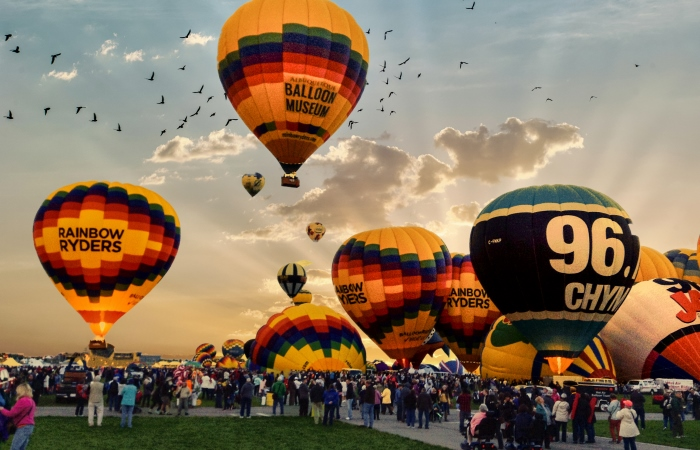 Hot Air Balloons - Albuquerque, NM