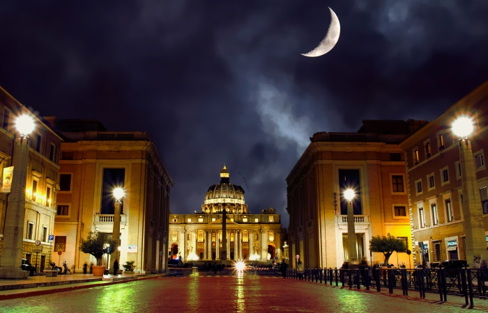 St. Peters Cathedral - Rome, Italy